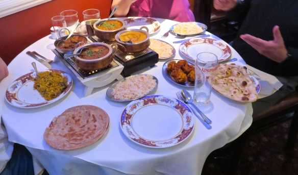 The Gate of India meal