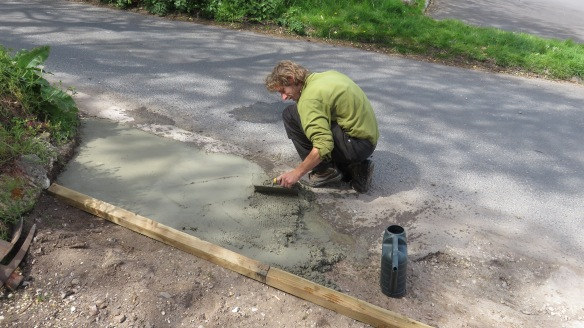 Aaron concreting