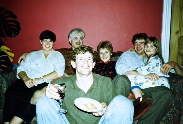 Becky, Derrick, Sam, Matthew, Louisa, and Michael