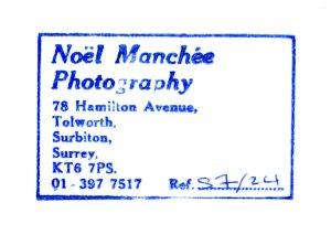 Noel Manchee stamp 1983