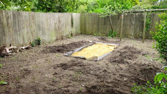 Rose garden stage 1