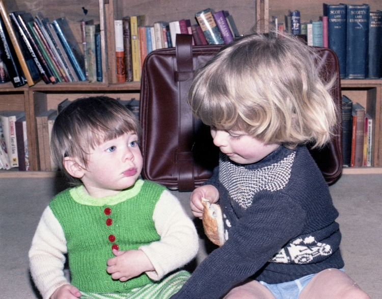 Sam and Louisa 1983 001