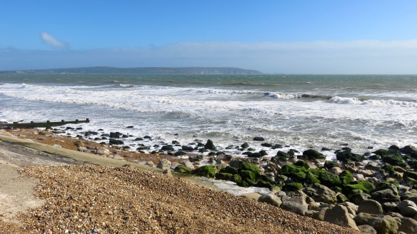 Seascape with Isle of Wight 1