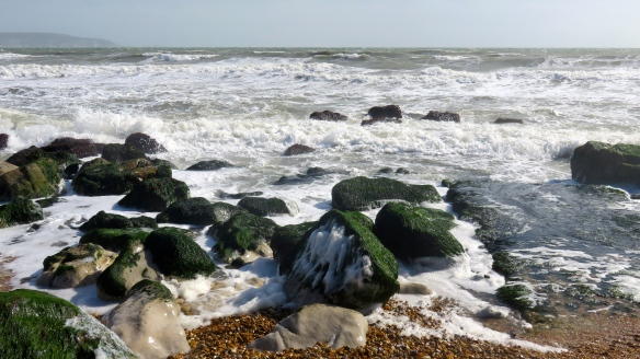 Seascape with Isle of Wight 2