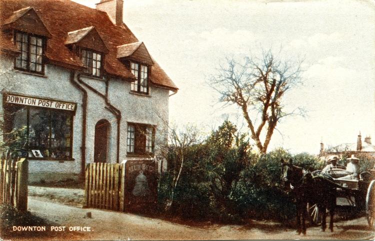 Downton Post Office 1938