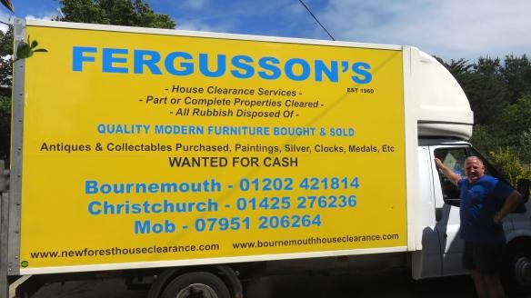 Fergusson's van