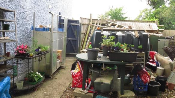 Head Gardener's work area