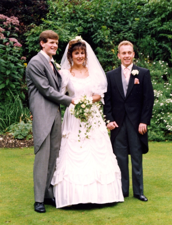 Michael & Heidi and Mark Banks 5.10.91