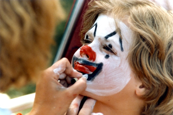 Sam's face painting 2 1985