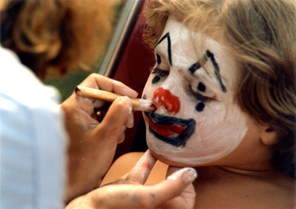 Sam's face painting 3 1985