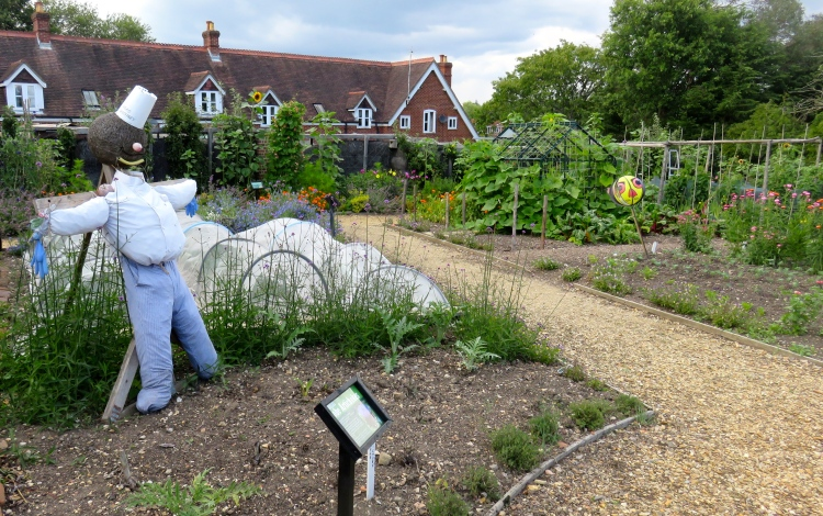 Scarecrows and beds