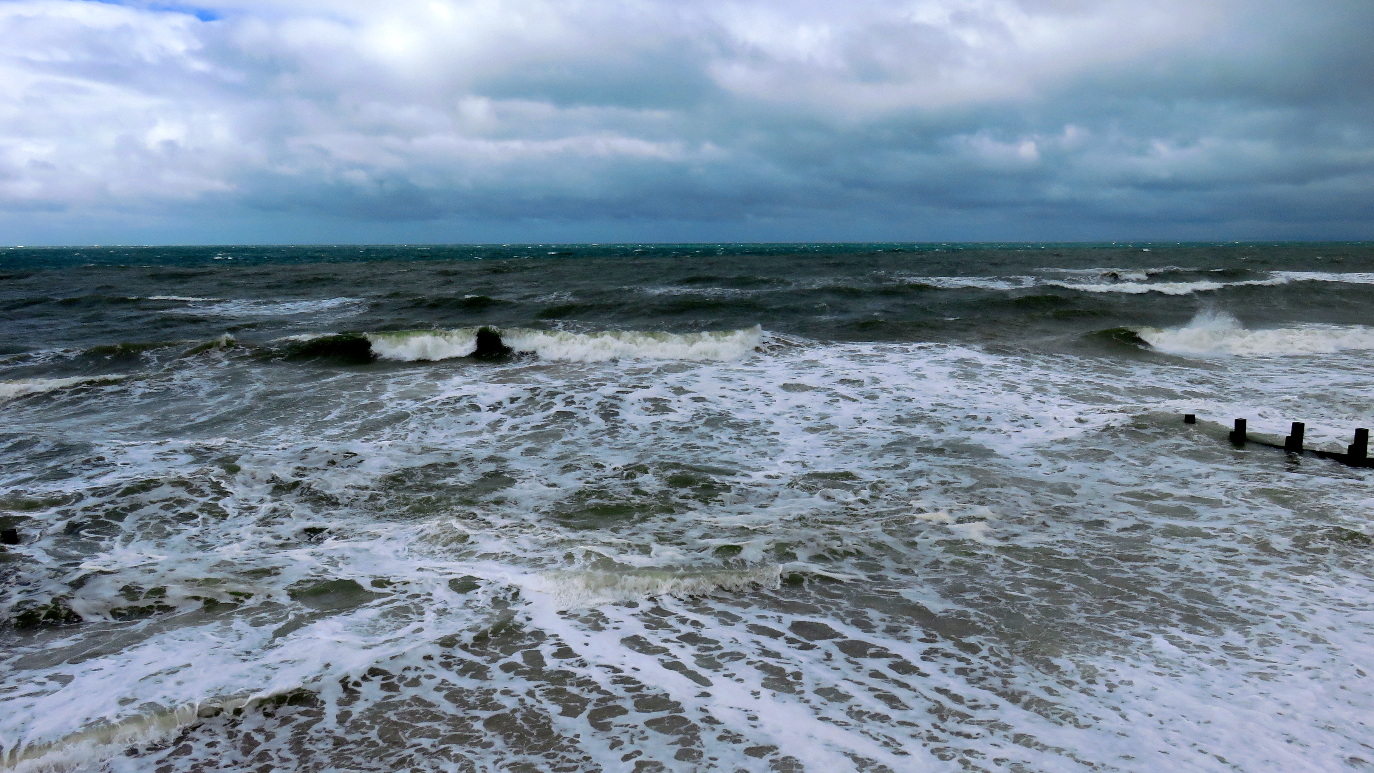 Difficulty Holding Eyes Open Seascape