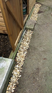 Shed gravel