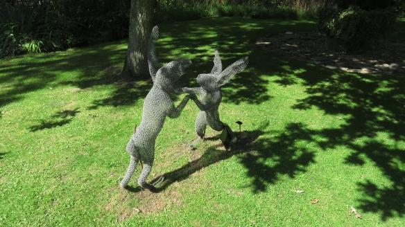 Dancing hares 2