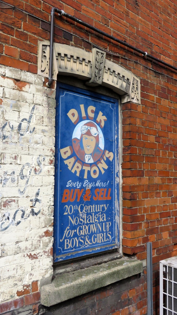 Dick Barton's sign