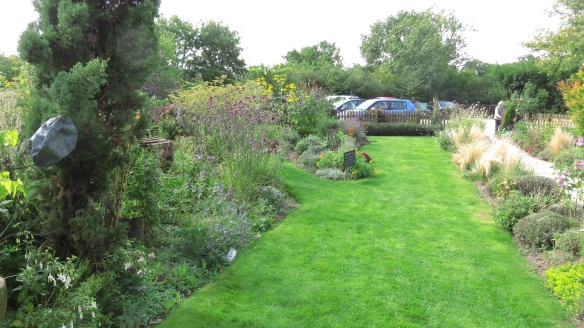 Garden towards car park