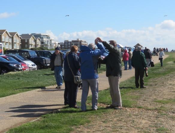 Group preparing for spitfires