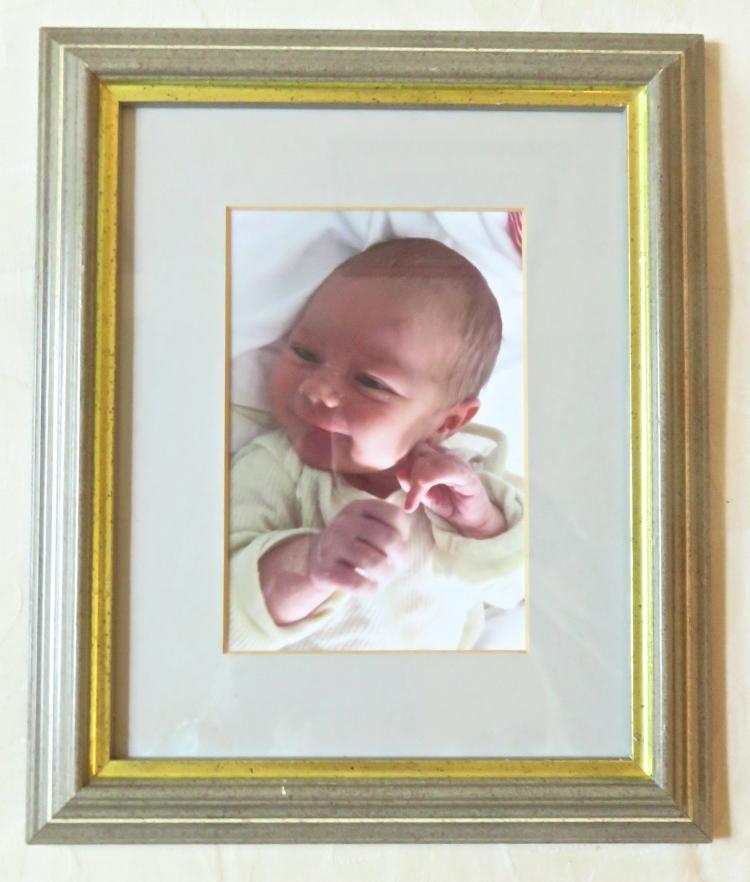 Poppy framed