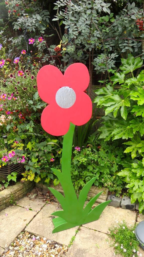Poppy sculpture