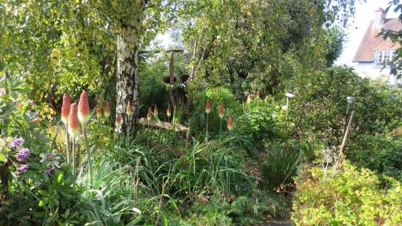 View across Heligan path