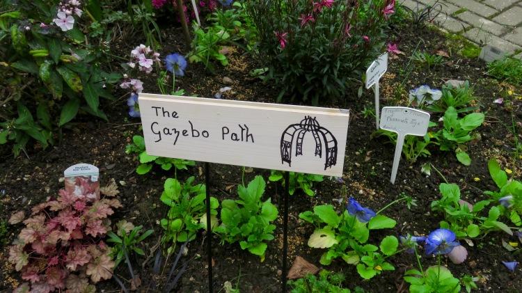 Gazebo Path sign