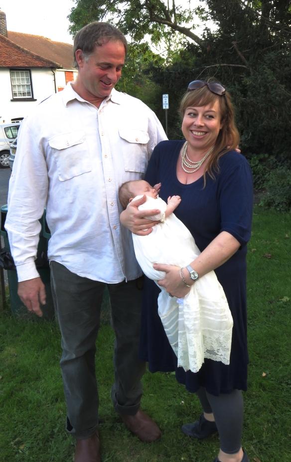 Matt, Tess and Poppy