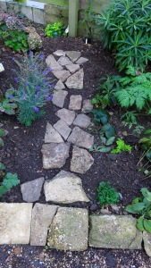 Stepping Stones front garden