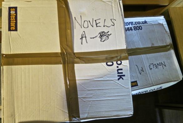 Novels A box