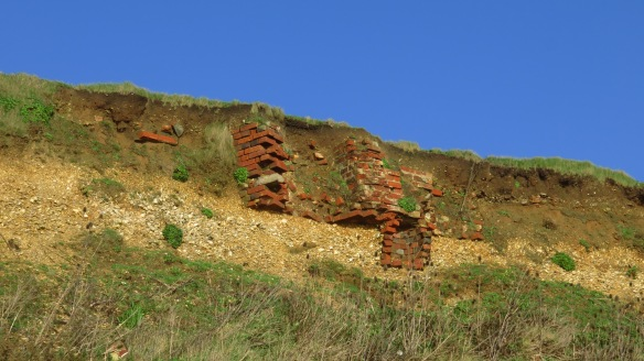 Building protruding from cliff 2