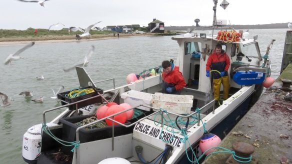 Fishermen on boat 1
