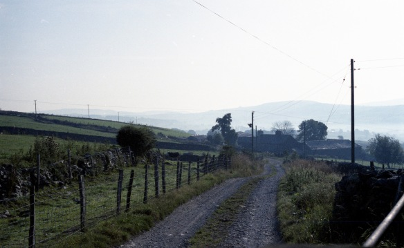 Footpath to farm