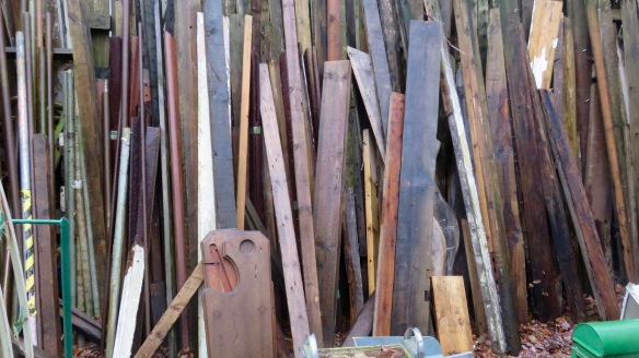 Planks and posts