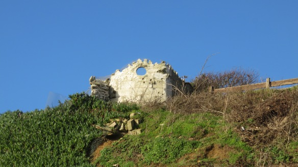 Ruin on clifftop 1