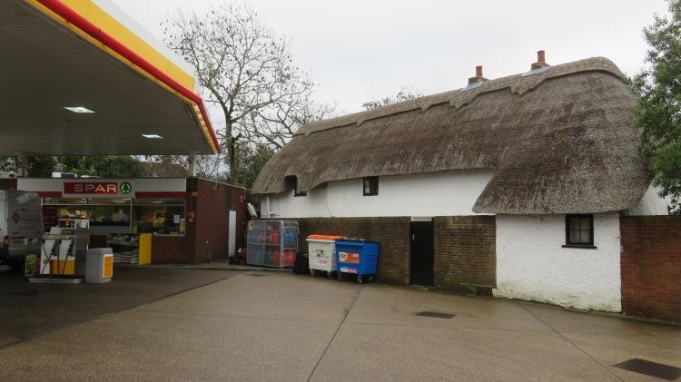 April Cottage and Spar garage