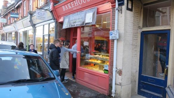 Queue outside Bakehouse