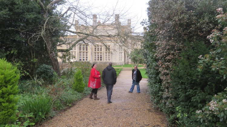 Becky, Ian and Jackie at Highcliffe Castle