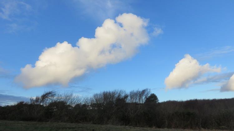 Clouds over Barton Common