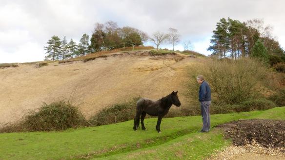 Ian and pony