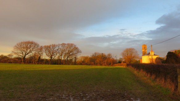 Sway Tower trial at sunset