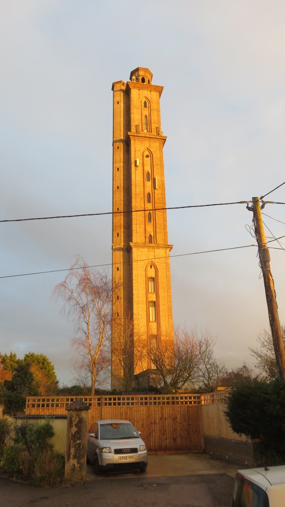 Sway Tower at sunset