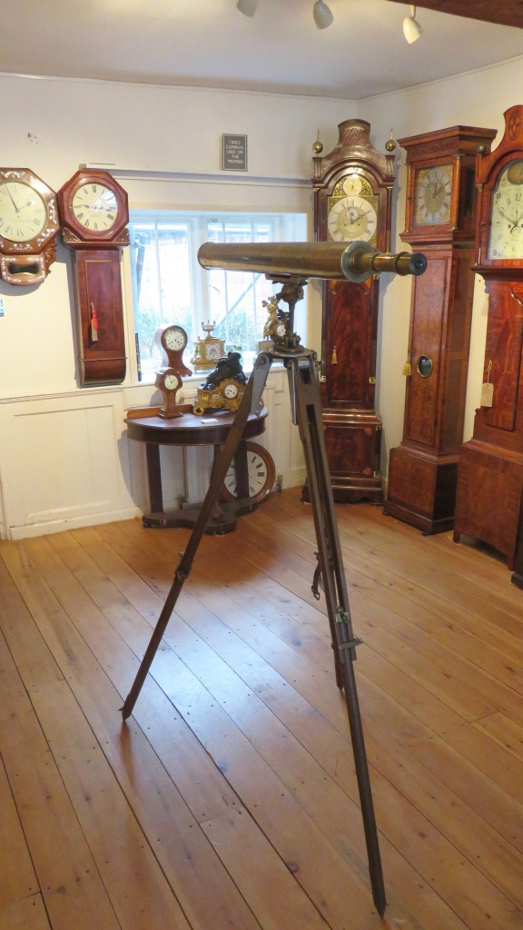 Telescope and clocks