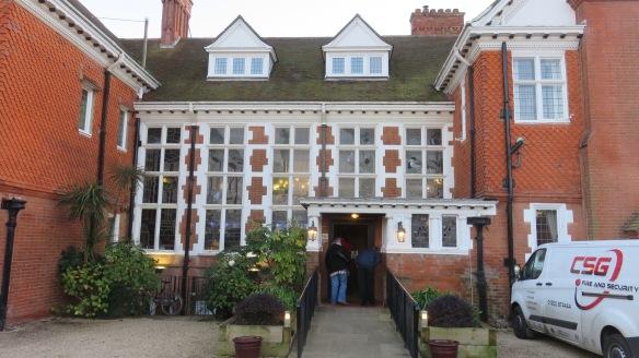 The Beach House entrance 2
