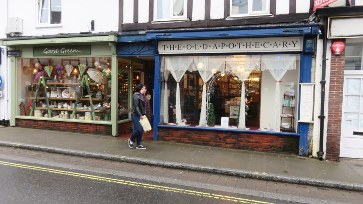 The Old Apothecary and Goose Green