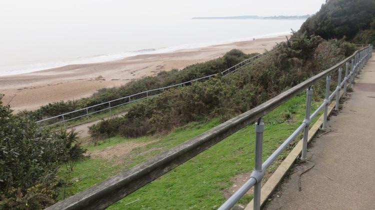 Zig-zag path to Beach