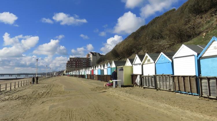 Opening beach hut 1