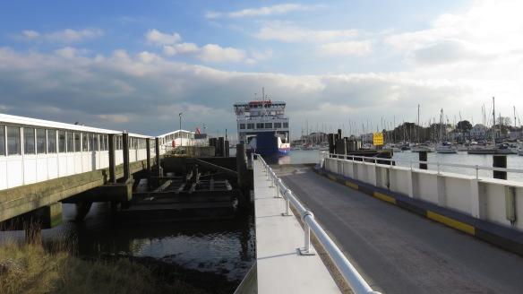 Ferry docking 1