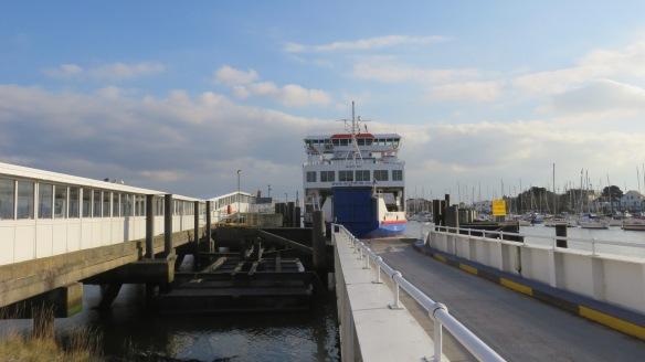 Ferry docking 2