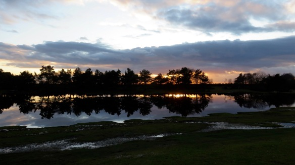 Hatchet Pond sunset 2