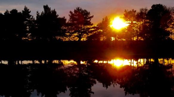 Hatchet Pond sunset 3