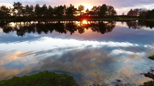 Hatchet Pond sunset 5